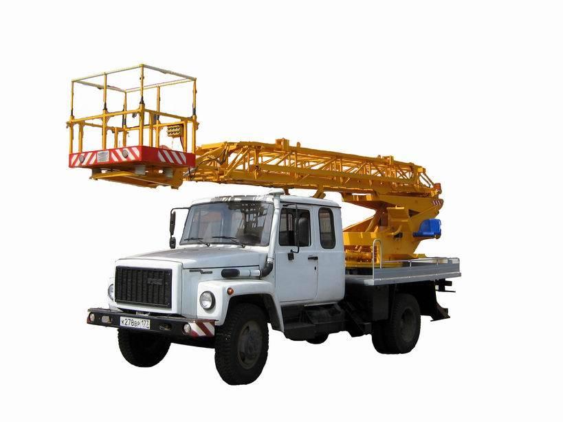 Автовышка ГАЗ 3308