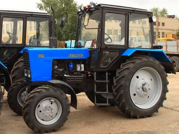 Внешний вид трактора