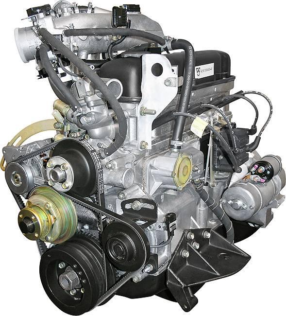 Двигатель на авто