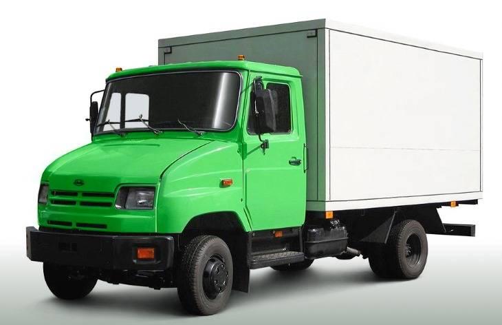 Небольшой грузовой автомобиль
