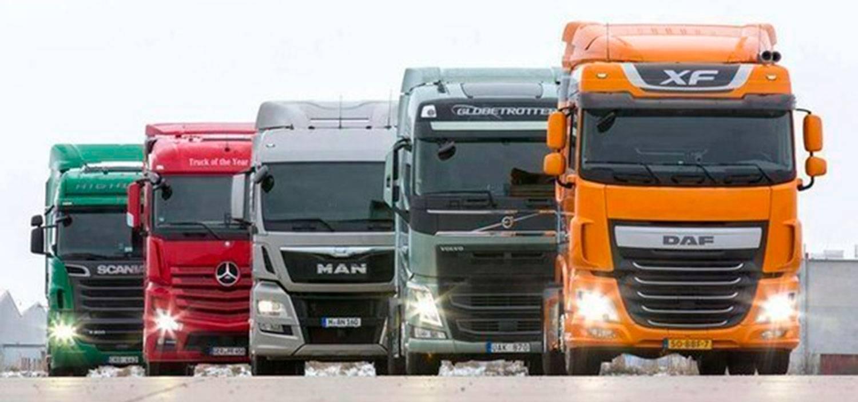 Внешний вид грузовиков