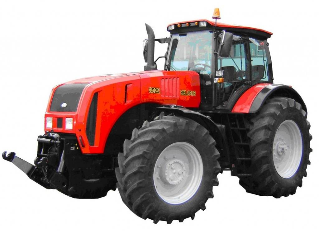 Трактор небольшого размера