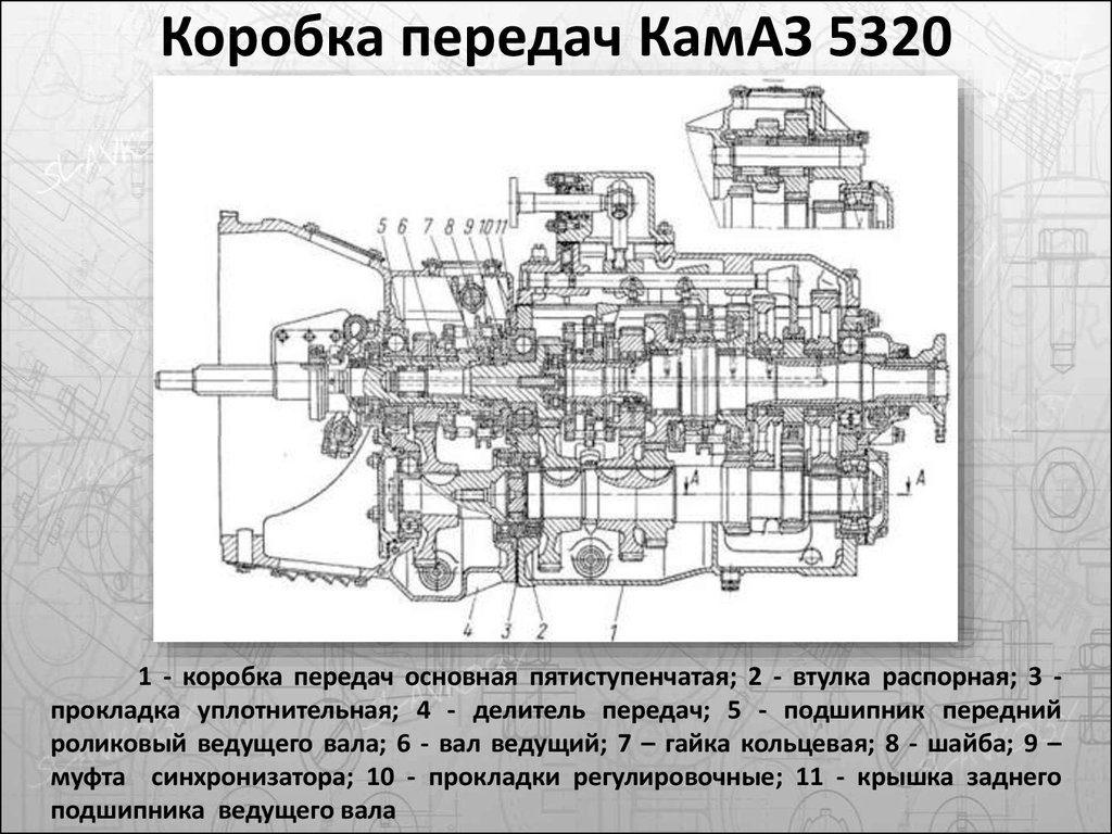 КПП с делителем на КамАЗе: устройство и принципы использования