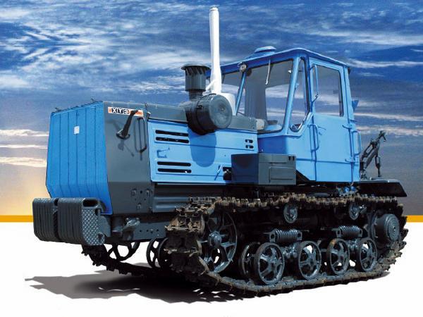 Гусеничный трактор Т-150— советская машина европейского класса