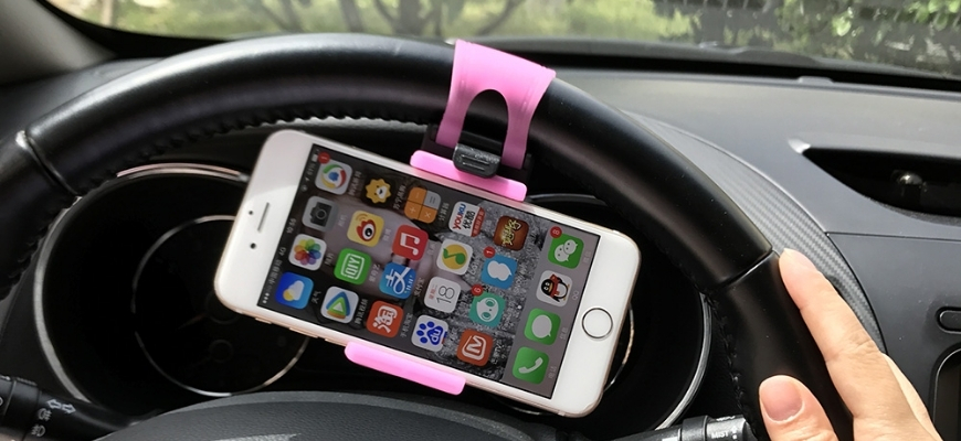 Car Steering Wheel Phone