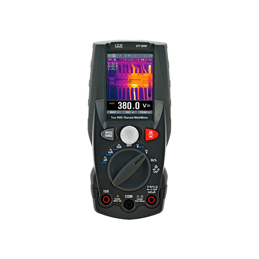Профессиональный вариант CEM DT-898 (с встроенным тепловизором)