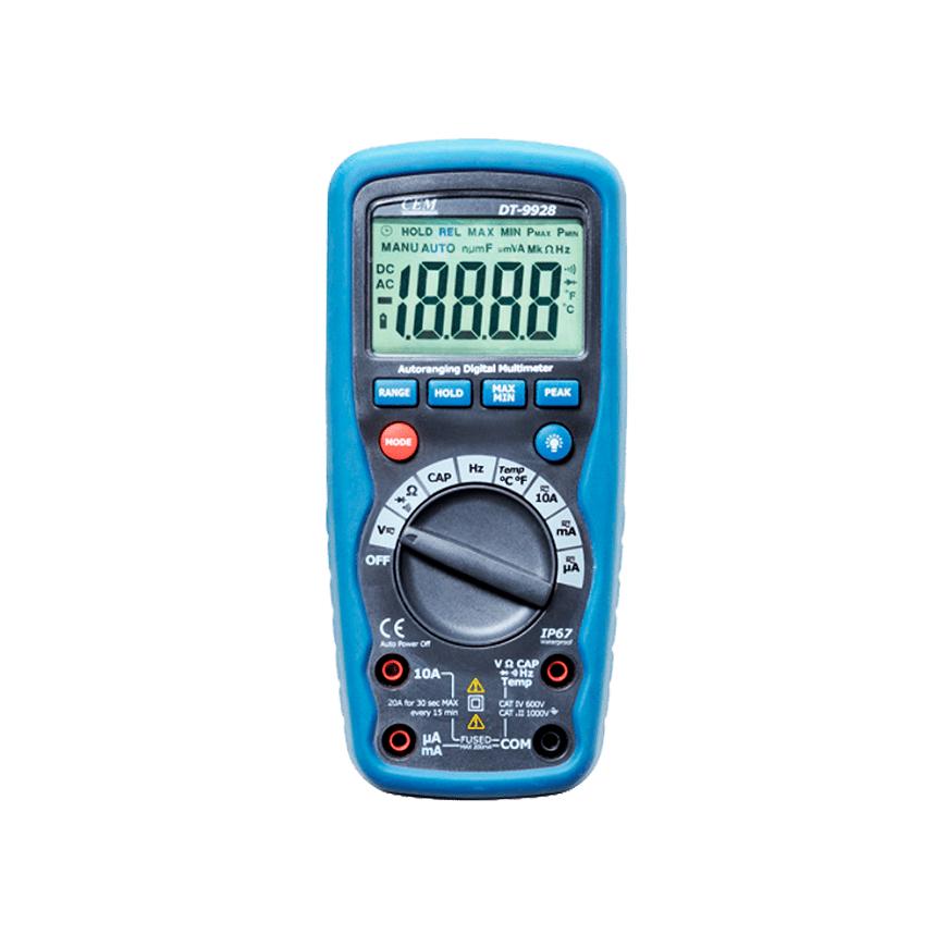 CEM DT-9928T доступный цифровой тестер