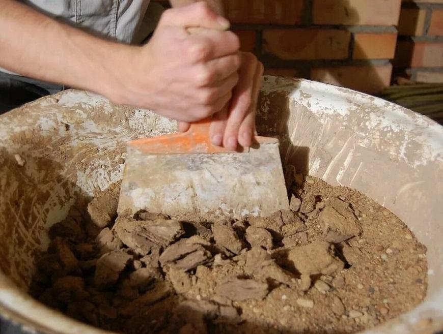Клей Глиняный состав