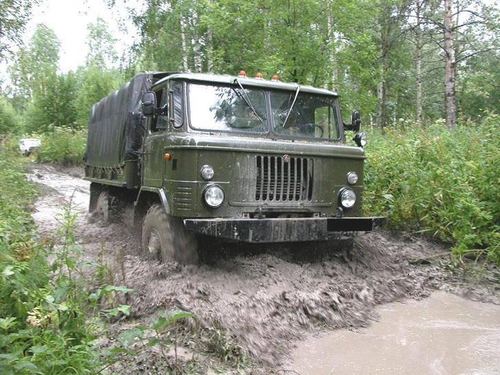 Вместительный грузовик