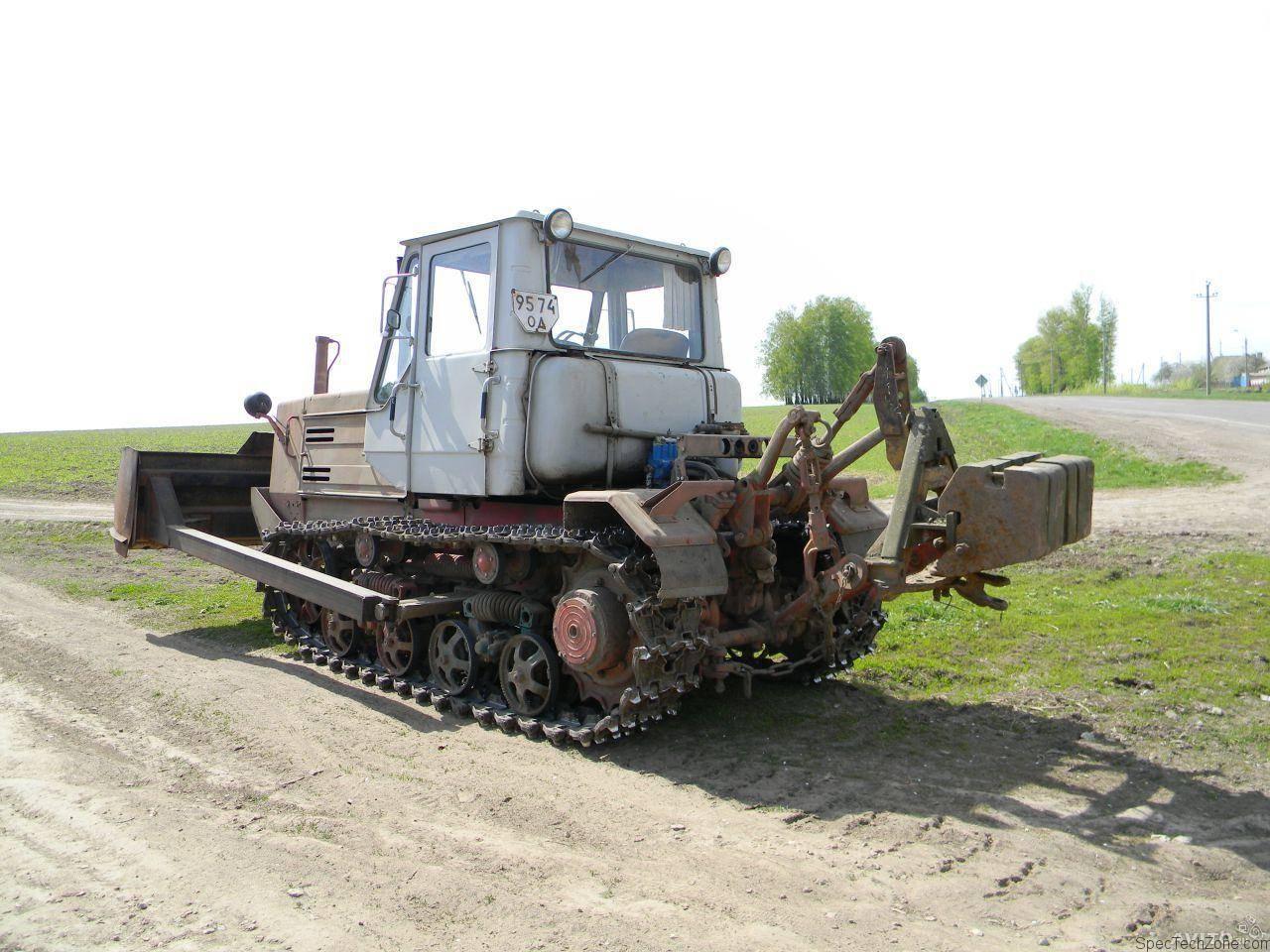Как выглядит трактор